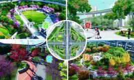 上海中心城区8万平米绿地改造 揭秘工程设计难点