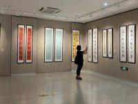 传统文化受青睐,投稿作品创纪录,上海市楹联书法大赛作品展开幕