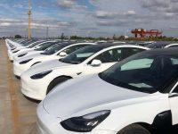 国产特斯拉整车出口海外,首批上海产Model 3预计下周二发往欧洲