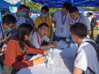 """华为杯创""""芯""""大赛在沪举办,为何吸引了50多家芯片企业来这里""""抢""""人?"""