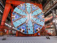 """首台上海制造的超大直径""""掘地神器""""诞生,将在机场联络线工程中应用"""